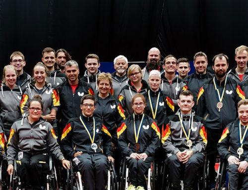Europameisterschaft – Para Tischtennis Helsingborg, Schweden 2019