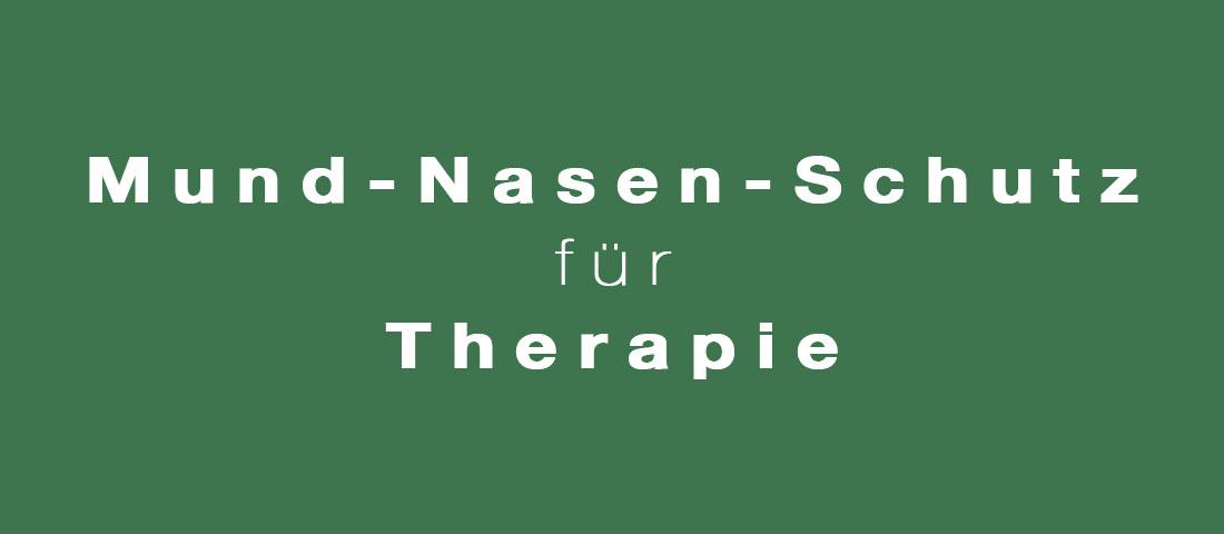 Praxis Physio Inn Bocholt-Mund-Nasen-Schutz-bei-Therapie