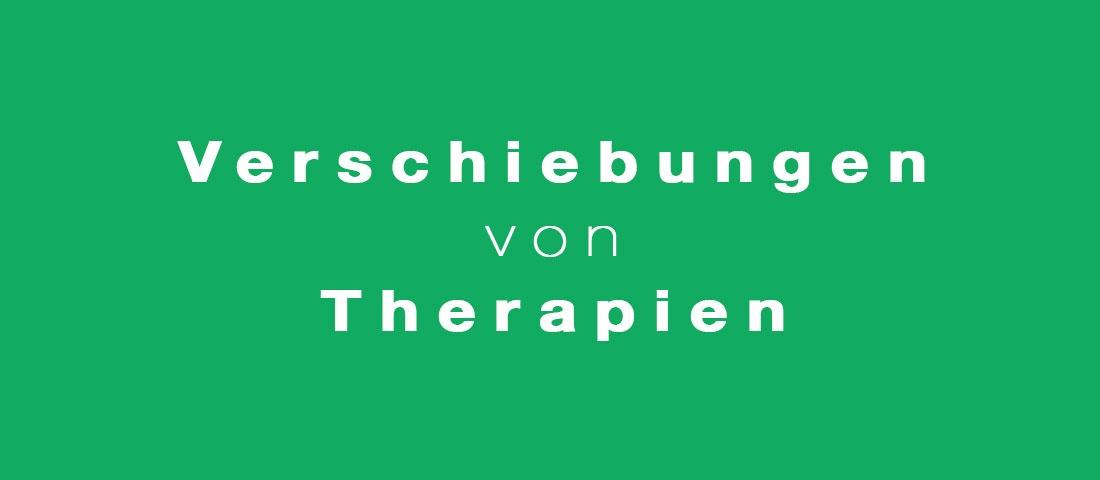 Praxis Physio Inn Bocholt - Verschiebungen-von-Therapien