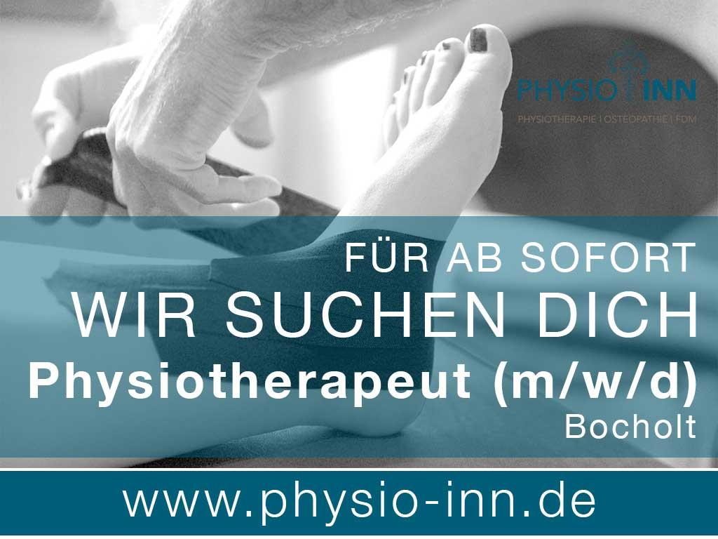 Praxis Physio Inn Bochholt Stellenanzeigen - Job