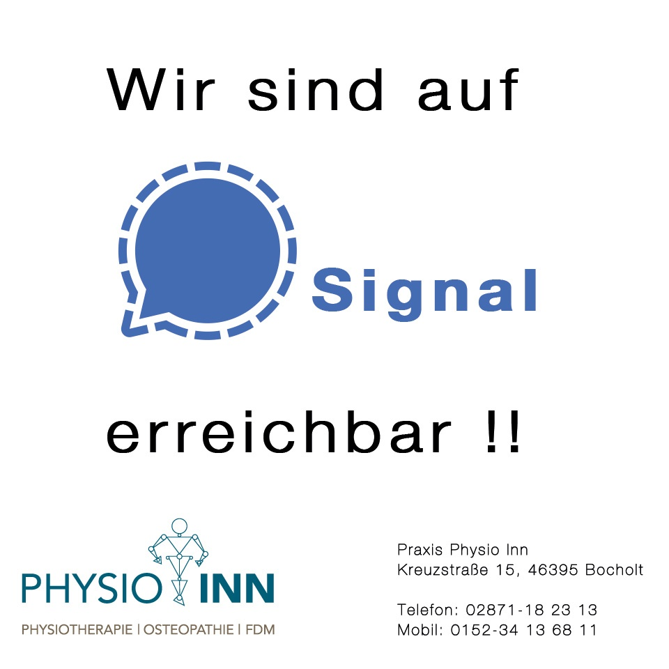 Hinweise-Signal Praxis Physio Inn Bocholt